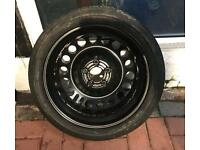 Vauxhall Vectra Space Saver Spare Wheel(5x110 Fitment)