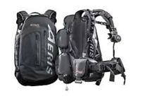 AERIS JETPACK BC/BCD DRY BACKPACK IN ONE USED ONCE GREAT CONDITION