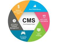 Website - content management system