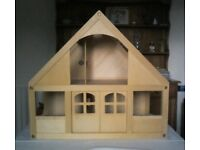 Wooden Dolls House & Accessories