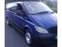 Xlwb Vito 04 good condition long mot drives great 6 speed may consider taking part X cash either way