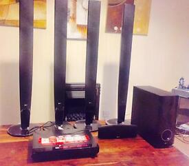 LG 500w Home entertainment system
