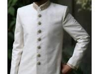 Asian, Bollywood, Pakistani, Indian, Bangladeshi groom's sherwani wedding dress