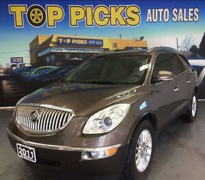 2011 Buick Enclave 7 PASSENGER CXL, AWD, LEATHER, CERTIFIED!
