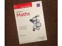 National 5 maths study guide