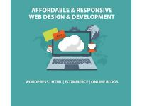 Bespoke & Responsive Website Design - Unlimited Revisions - Wordpress - eCommerce - Blogs