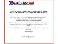 WINDOW CLEANER / JETWASHER