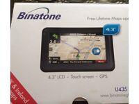 Binatone U435 Satelite Navigation