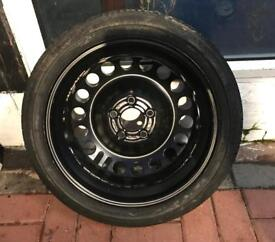 Vauxhall Vectra Space Saver Spare Wheel**5x110 Fitment**