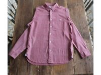 Parca Australia Men's Casual Shirt Size S Red