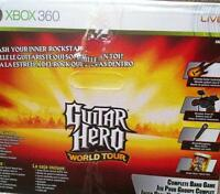 Guitar Hero complete band game with additional guitar and games