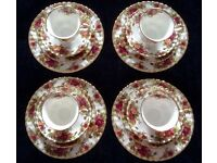 Royal Albert set - 16 pieces