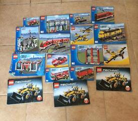 Lego joblot 20kg includes minifigures all sets