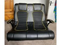 X Rocket Double gaming chair £30