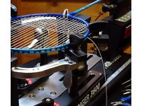 Professional Racquet Stringing for Badminton, Tennis and Squash racquets - Slough area - £10