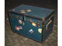 Fabulous vintage cabin trunk - excellent condition (pbms)