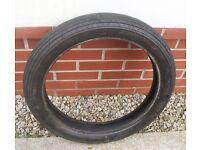 Bridgestone Accolade 03 ribbed motor cycle front tyre 100/90x19