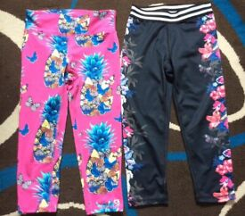 Gap active kid leggings x2 items size 8-9 year old in excellent condition