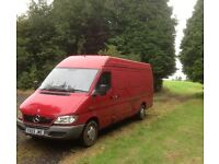 Mercedes-Benz Sprinter 2.1 Diesel 313 LWB High Roof New MOT