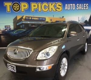 2011 Buick Enclave CXL, AWD, LEATHER, AND CERTIFIED!