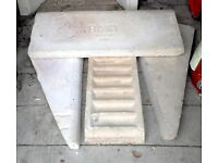 BAXI 63 set of 4 fire bricks