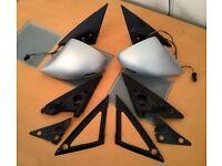 Genuine Set of AC Schnitzer BMW E39 Sport Mirrors Very Rare RHD M5 5 Series Wing Side Alpina UK Spec