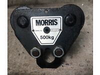 "Travelling block for chain hoist ""Morris"" 500 kg"