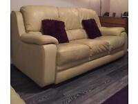 3 piece suite (sofa and chairs )