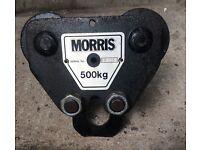 """Beam Travelling block for chain hoist """"Morris"""" 500 kg"""
