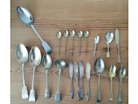 Vintage Cutlery Some Silver