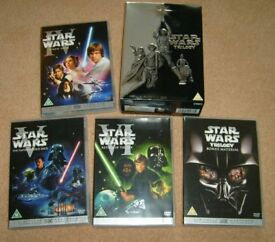star wars dvd box set