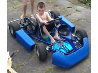 Cadet go kart frame no engine