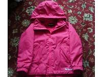 Girls Peter storm coat age 5-6
