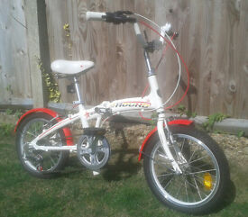 Kids folding bike Lespo Samchuly Fox Hound age 5-10