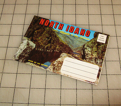 North Idaho  Moscow To The Salmon  Fold Out Postcard Souvenir Folder