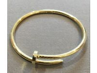 Cartier Inspired Nail Bracelet/Bangle