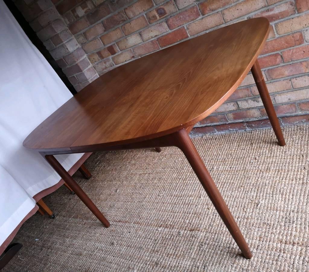 Kofod Larsen For G Plan Danish Design Extendable Teak Dining Table