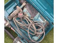 Makita SDS drill 240 volt and Makita charger