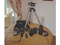 CANON EOS 450D CAMERA & ACCESSORIES
