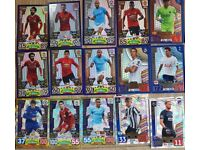 Match attax CL, PL and extras