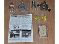 2 x Spurs Rope & Weed Cutters for Boat Propeller Shaft - Clamp-on type (1 as-new, 1 worn) + spares