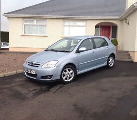 2006 Toyota Corolla 1.4 VVT-i T3 5dr1 lady owner only 46k miles mint condition
