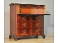 Attractive Large Shapland & Petter Mahogany Chest Of Four Drawers