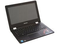 New Lenovo Yoga 300 11.6 inch HD Convertible Touchscreen Notebook-white
