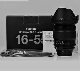 Fujifilm 16-55mm f2.8 R LM WR Fuji Lens