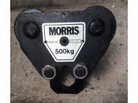Morris Travelling Block for chain hoist, 500 kg max