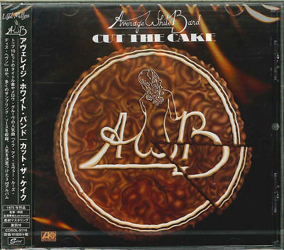 Halloween Band New Album (AVERAGE WHITE BAND-CUT THE CAKE-JAPAN CD)