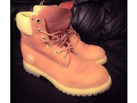 Genuine Womens TIMBERLAND BOOTS size 6