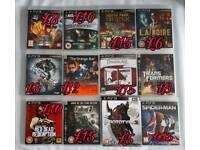 Playstation 3 Games (Complete Bundle or separate)