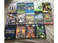 Selection of pc games and windows vista